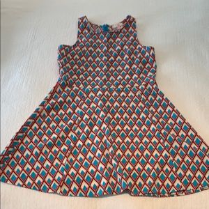 A-Line abstract dress